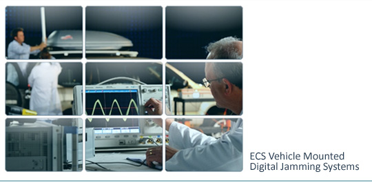 ECS Vehicle Mounted Digital Jamming Systems