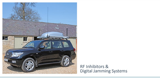 RF Inhibitors & Digital Jamming Systems