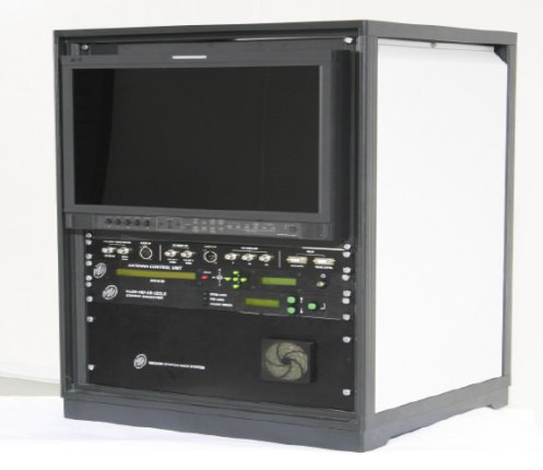 Ground Station Receiver Rack