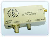 Miniature Transmitter with Encryption